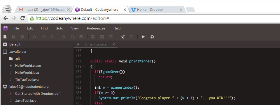 Online Java Programming